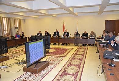 متابعة موقف 56  مشروع بمنطقة بياض العرب ومنح مهل إضافية ل 5 مشروعات