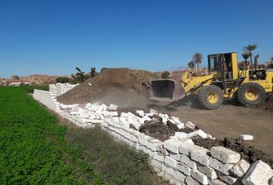 محافظ بني سويف : إزالة  108 حالة تعد على الأراضي الزراعية  خلال 3 أيام