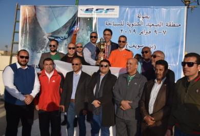 بني سويف الرياضي يحصد كأس بطولة الصعيد الشتوية  للسباحة بعد توقفها لأكثر من 12 عاماً