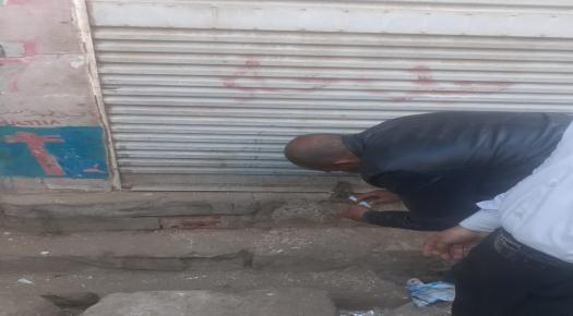 غلق وتشميع محلات تجارية  بمركز ناصر لمخالفته قرارات الحكومة