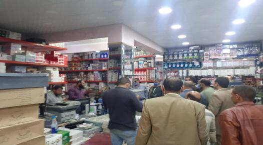 غلق وتشميع 5 محلات لمخالفتها قرارات الحكومة في حملة نفذتها الوحدة المحلية لمركز ومدينة ناصر